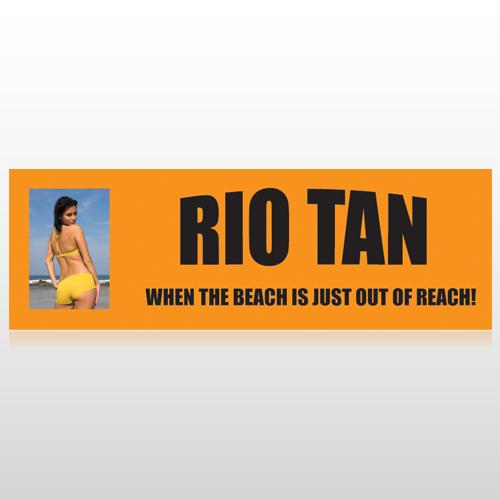 Rio Tan Beach 489 Custom Sign