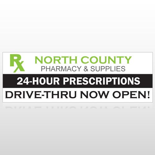 RX North County 105 Custom Sign