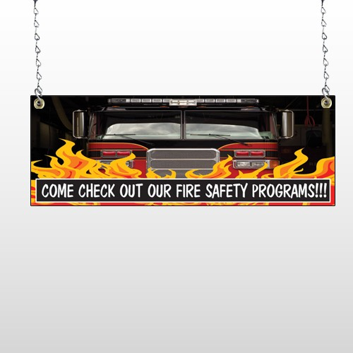 Safety Program 427 Window Sign