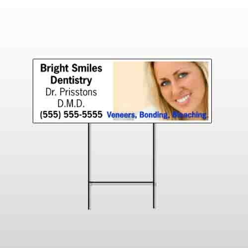 Dental 49 Wire Frame Sign