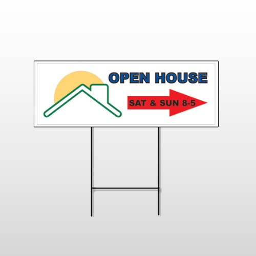 Open Moon Roof 727 Wire Frame Sign