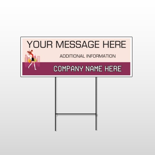 Fashion Shopping 179 Wire Frame Sign