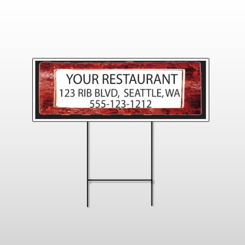 Restaurant Specials 370 Wire Frame Sign