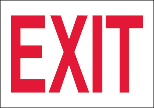 """Directional Rigid Board Sign 10""""H x 14""""W"""