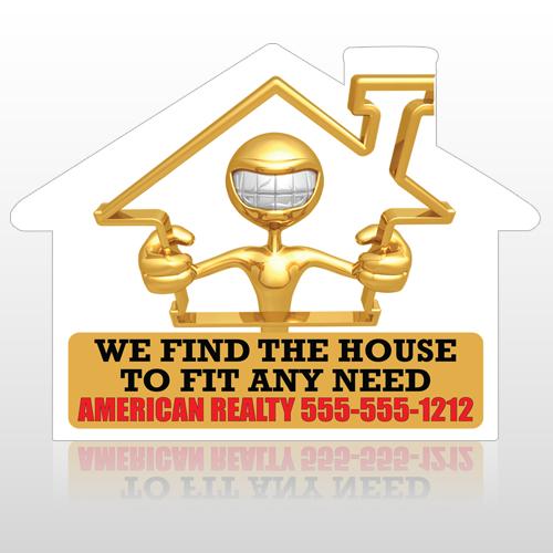 House 957 Floor Decal House