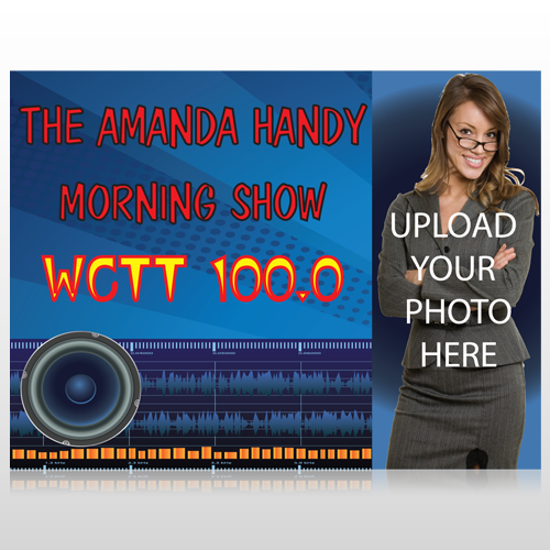 Amp Morning Show 439 Custom Sign
