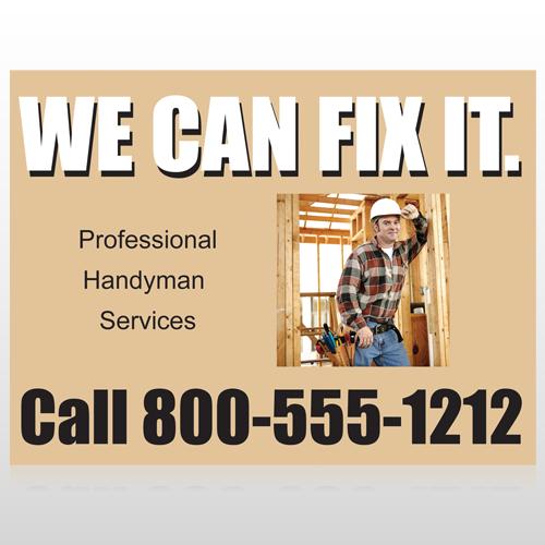 Handyman 240 Custom Sign