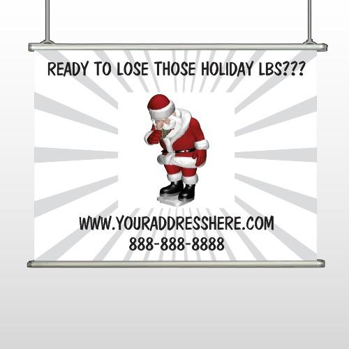 Health Santa 402 Hanging Banner