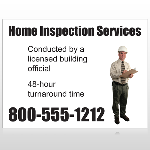 Inspection 244 Site Sign