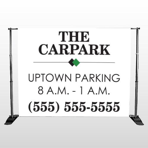 Car Park 122 Pocket Banner Stand