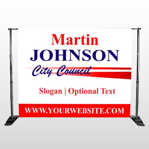City Council 310 Pocket Banner Stand