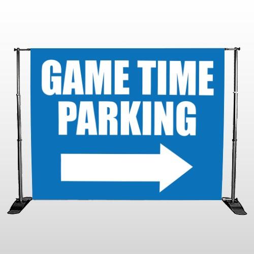 Parking 298 Pocket Banner Stand