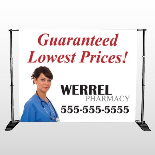Pharmacist  104 Pocket Banner Stand