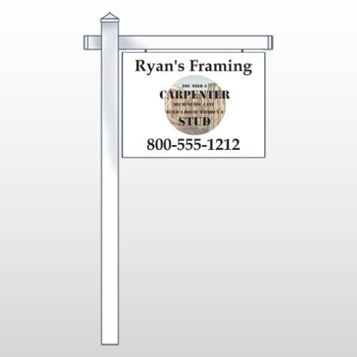 "Framing 237 18""H x 24""W Sign Site"