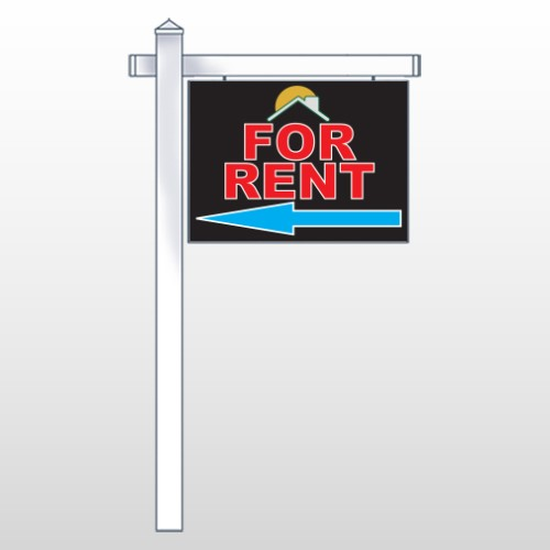 """Moon Roof 722 18""""H x 24""""W Swing Arm Sign"""