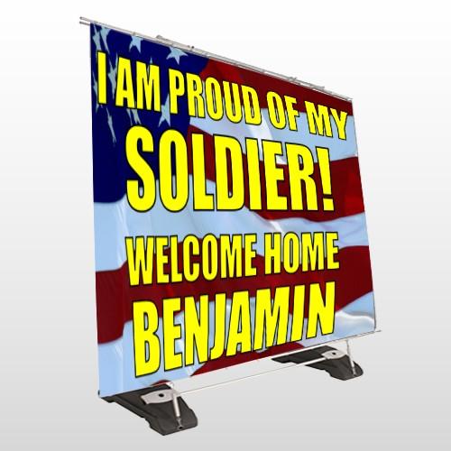 Flag 52 Exterior Pocket Banner Stand