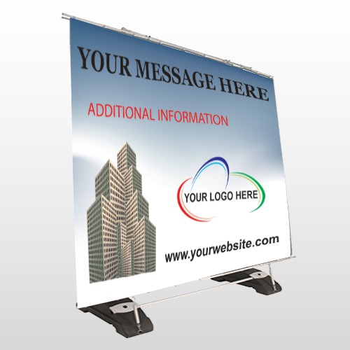 Industry 151 Exterior Pocket Banner Stand