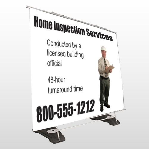 Inspection 244 Exterior Pocket Banner Stand