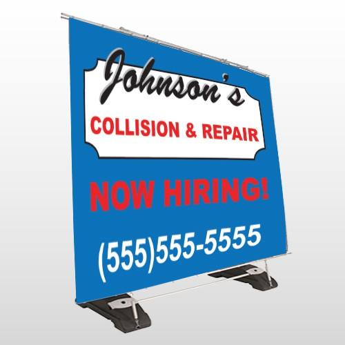 Repair 299 Exterior Pocket Banner Stand