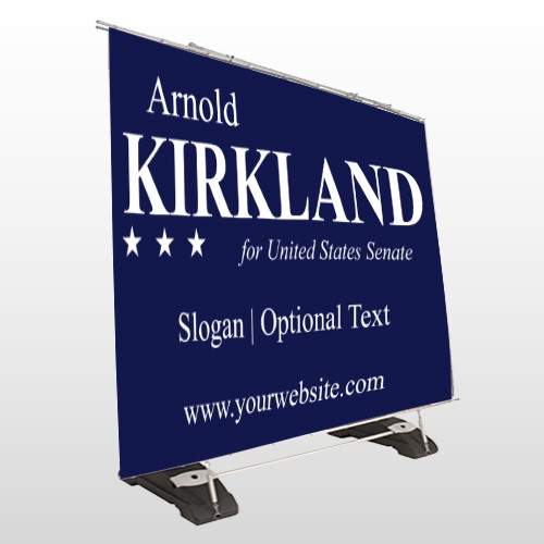 Senate 309 Exterior Pocket Banner Stand