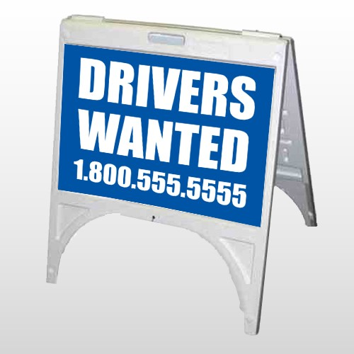 Drivers Wanted 314 A Frame Sign