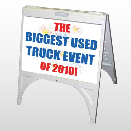 Fireworks 327 A Frame Sign