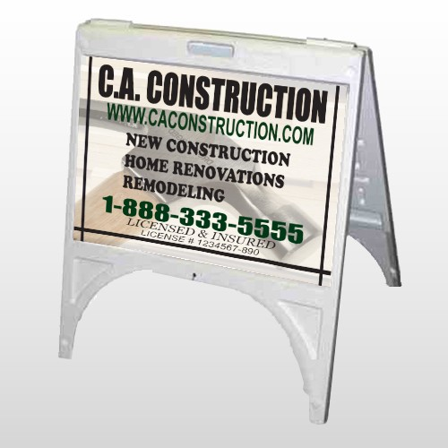 Hammer 498 A Frame Sign