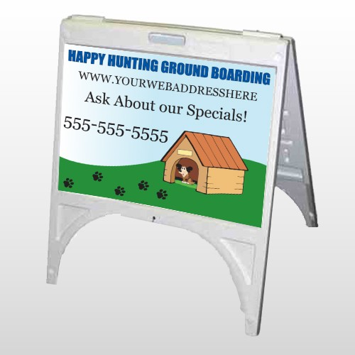 Hunting 301 A Frame Sign