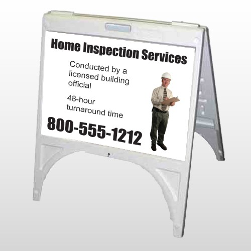 Inspection 244 A Frame Sign