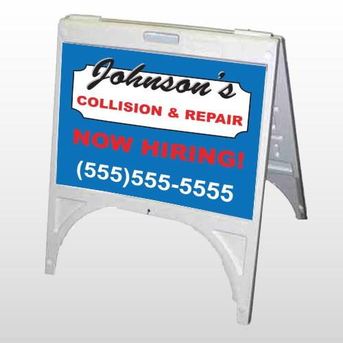 Repair 299 A Frame Sign