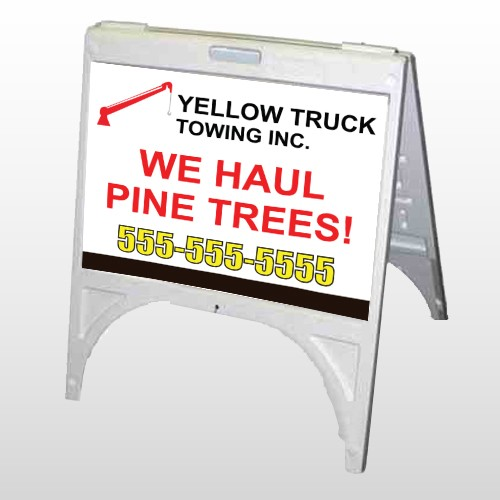 Towing 300 A Frame Sign