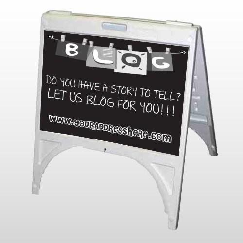 Blog Line 430 A Frame Sign