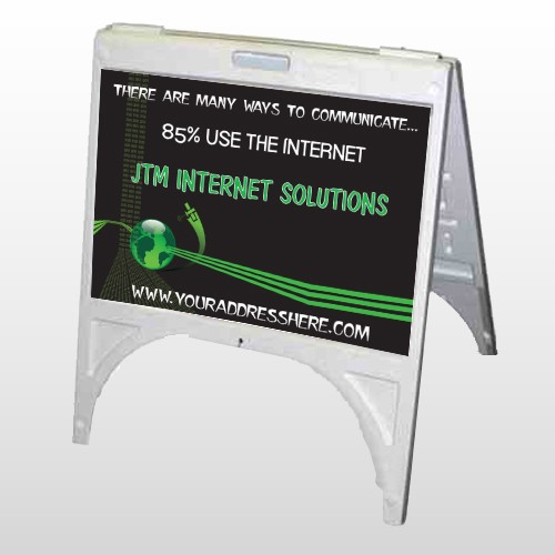 World Of Numbers 436 A Frame Sign