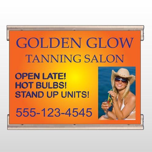 Golden Glow 491 Track Banner