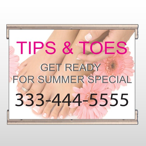 Tips And Toes 488 Track Banner