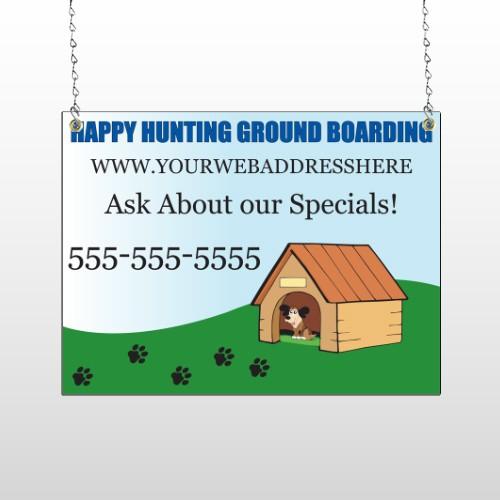 Hunting 301 Window Sign