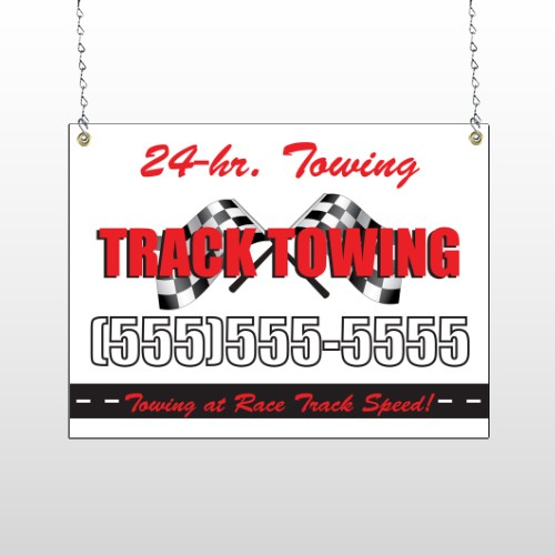 Towing 311 Window Sign