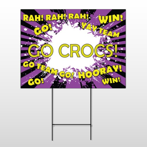Crocs 54 Wire Frame Sign