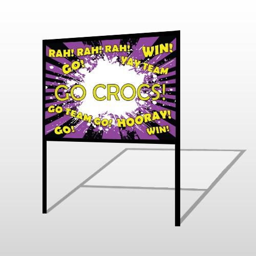 Crocs 54 H Frame Sign