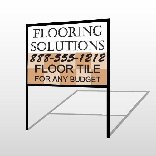 Flooring 239 H-Frame Sign