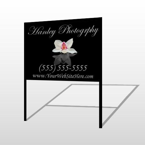Flower 41 H-Frame Sign