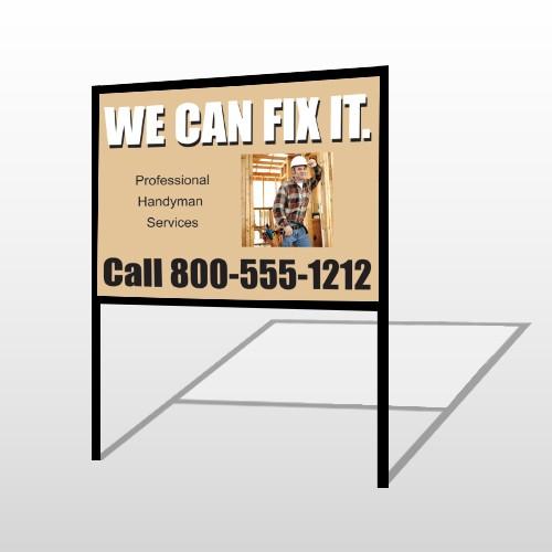 Handyman 240 H-Frame Sign