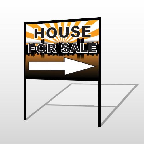 House Sale 719 H-Frame Sign