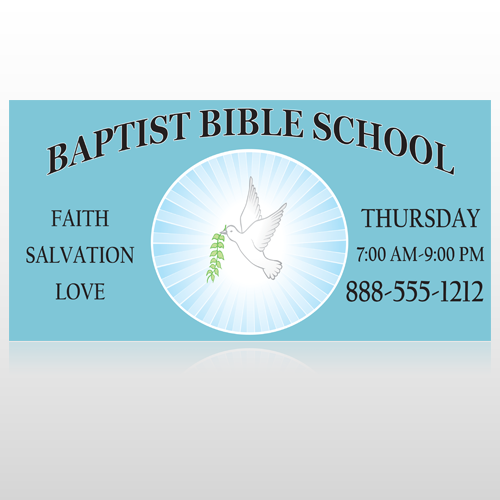 Bibledove 162 Site Sign