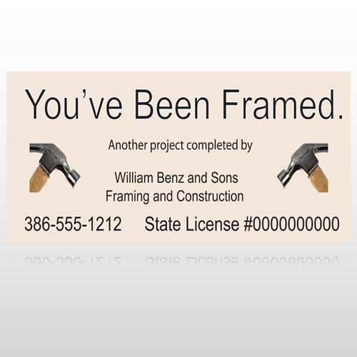Framed 236 Site Sign