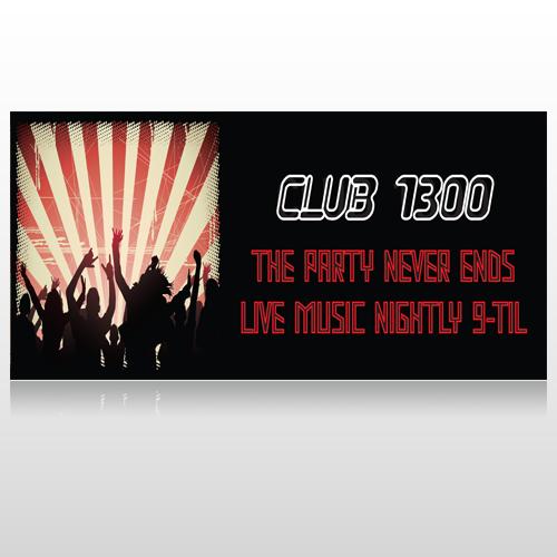 Night Club 523 Custom Sign