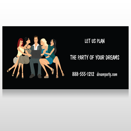 Party Planning 519 Custom Sign