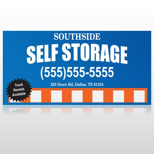 Storage Building 120 Custom Decal
