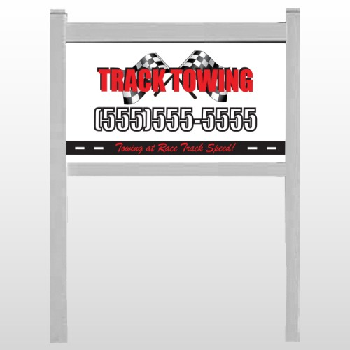 "Towing 311 24""H x 48""W Site Sign"