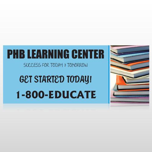 Book Learning 156 Custom Banner